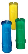 5 Day Insert Candles w/ Cross