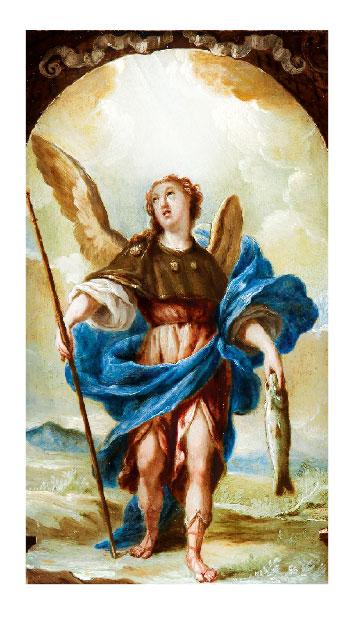 st  raphael prayer card  u0026gt  holy cards
