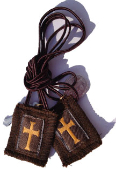 Crusader Athletic Scapular with Medals