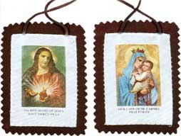 Large Size Brown Scapular