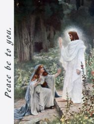 Peace be to you. Easter Card - Pack of 12 Cards