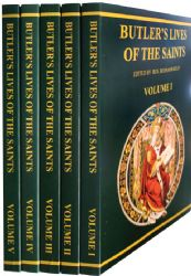 Butlers Lives of the Saints 5 Volumes