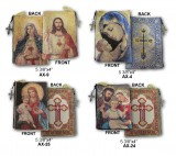 Tapestry Rosary Pouches