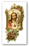 Act of Consecration to the Sacred Heart of Jesus Laminated Holy Card