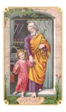Ancient Prayer to St. Joseph Holy Card Laminated