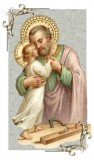 St. Joseph with Child Jesus Holy Card