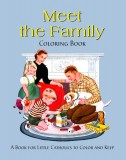 Meet the Family Coloring Book