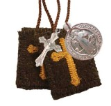 Athletic Brown Scapular