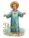 Child Jesus Thank You Card