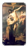 Act of Adoration of St. Francis of Assisi - Holy Card with Prayer Laminated