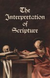 Interpretation of Scripture - Slightly Defective Cover