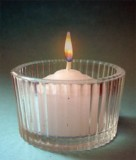 Ribbed Tealight Holder