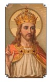 Jesus Christ the King Holy Card