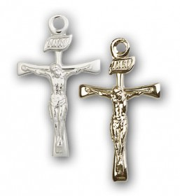 Small Maltese Crucifix Medal