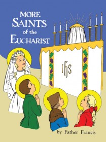 More Saints of the Eucharist - Coloring Book