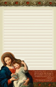 Madonna & Child Notepad
