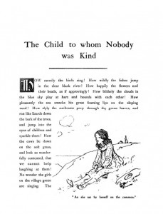 The Child to Whom Nobody was Kind