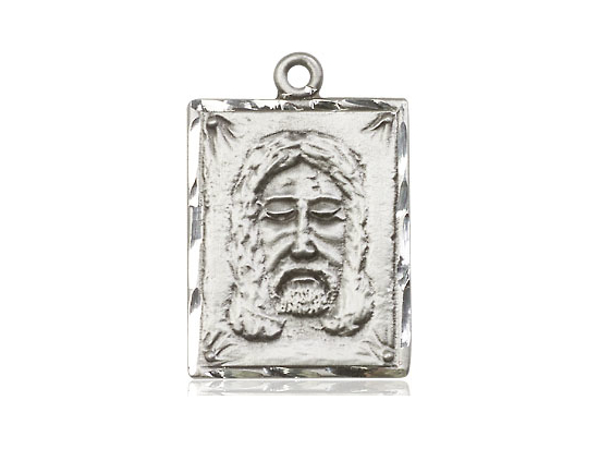 Holy Face Medal - Sterling Silver