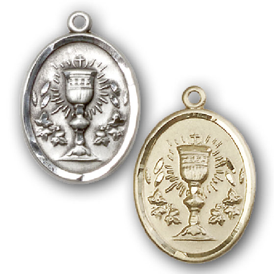 First Holy Communion Chalice Medal