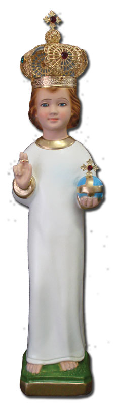 Infant of Prauge Statues - Multiple Sizes