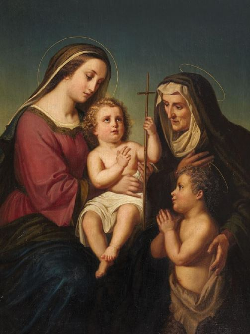 The Madonna with Child - Mass Card for the Living