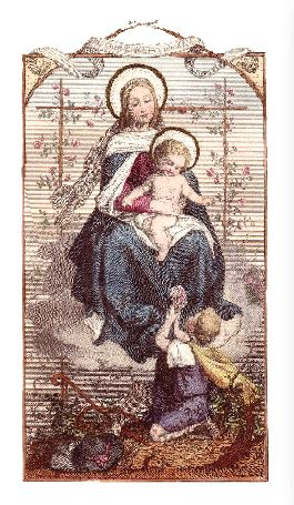 A Prayer Most Dear to Mary - Laminated Cards