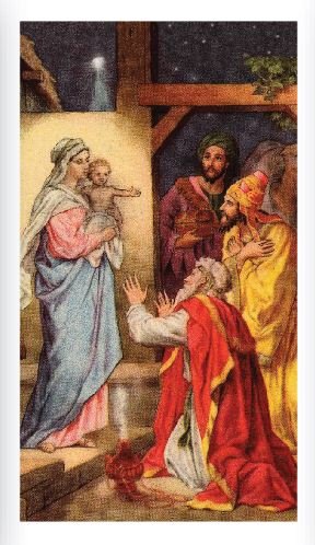 Adoration of the Magi - Paper Cards