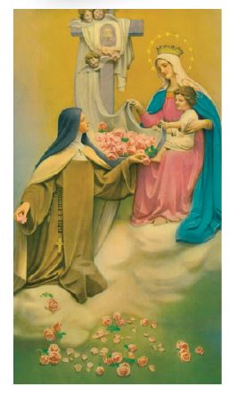 Prayer in Honor of St. Therese of the Infant Jesus - Laminated Cards