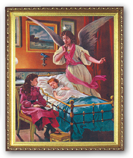 Guardian Angel 8x10 Framed Picture