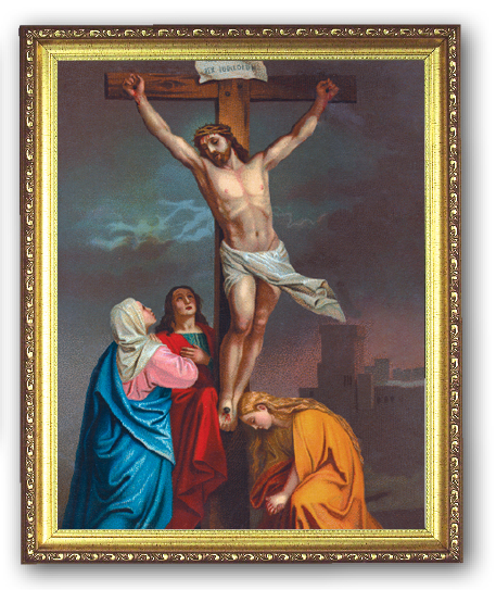 Crucifixion - 8x10 Framed Picture