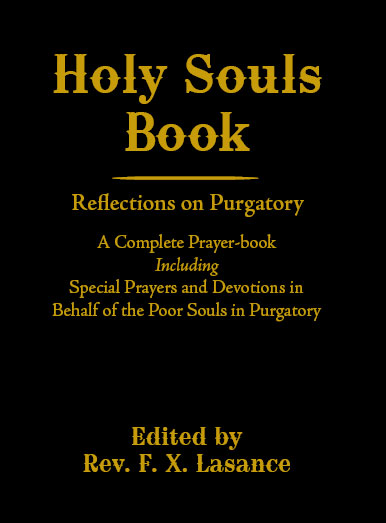 Holy Souls Book by Father Lasance - Slightly Defective