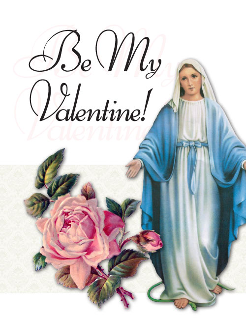 Full Size St. Valentineu0027s Day Greeting Card