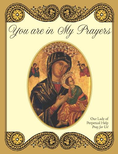 You are in my Prayers - Greeting Card