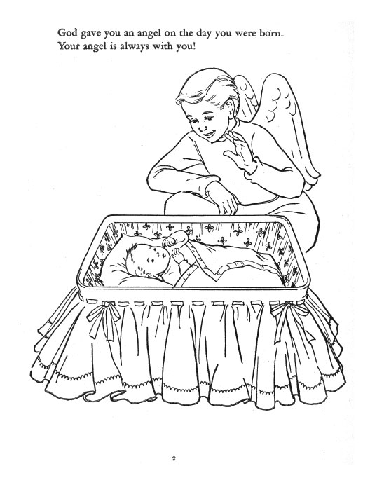 Meet Your Angel - Coloring Book > Coloring Books
