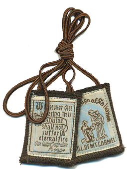 Best Brown Scapular with Medals