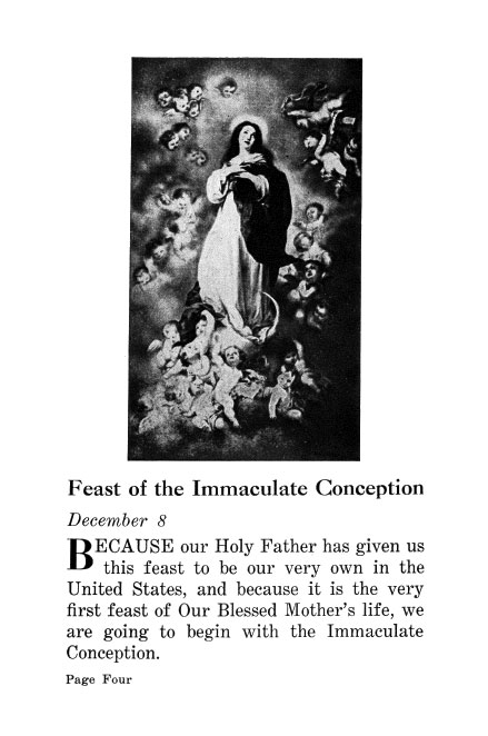 Our Lady's Feasts For Children - Slightly Defective
