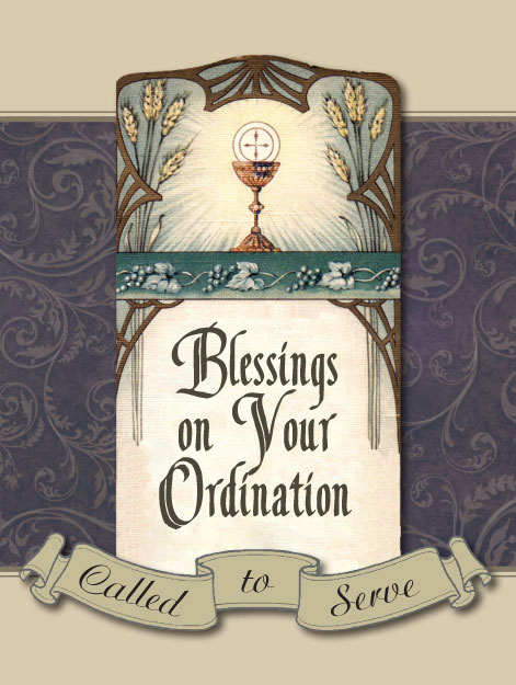 Blessings on your ordination greeting card greeting cards blessings on your ordination greeting card m4hsunfo