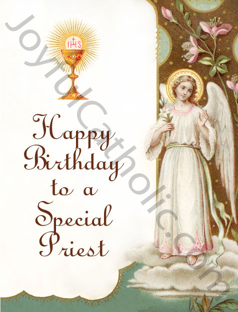 Happy birthday to a special priest greeting card greeting cards happy birthday to a special priest greeting card m4hsunfo