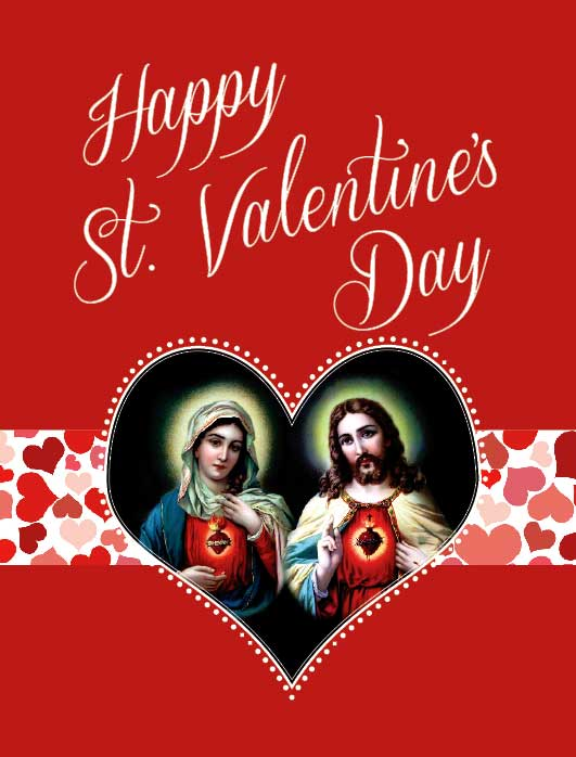 St valentines day greeting card greeting cards full size st valentines day greeting card m4hsunfo