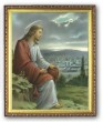 Jesus Overlooking Jerusalem 8x10 Picture
