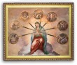Seven Sorrows 8x10 Framed Picture