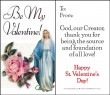 Be My Valentine - St. Valentine's Day Cards pack of 10