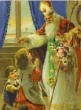 St. Nicholas Visiting Children
