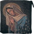 Praying Madonna Tapestry Rosary Pouch