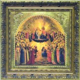 """The Coronation"" of Our Blessed Mother by Angelico"