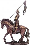 St. Joan of Arc Riding a Horse