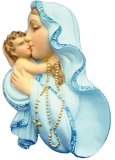 Hanging Wall Statue of Our Blessed Mother and Child Jesus