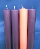 "Advent Candles - 51% - 7/8"" x 12"""