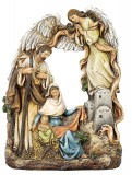 Nativity with Archangel