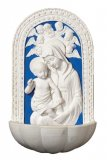 Blessed Mother and Child Holy Water Font